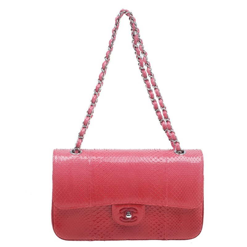 5baa69fba9ebf2 ... Chanel Red Ombre Python Medium Classic Double Flap Bag. nextprev.  prevnext