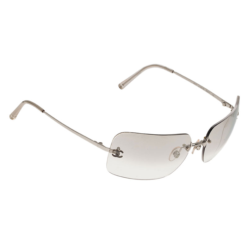6fcc32dfce2 Buy Chanel Rimless 4017-D Women Sunglasses 1723 at best price