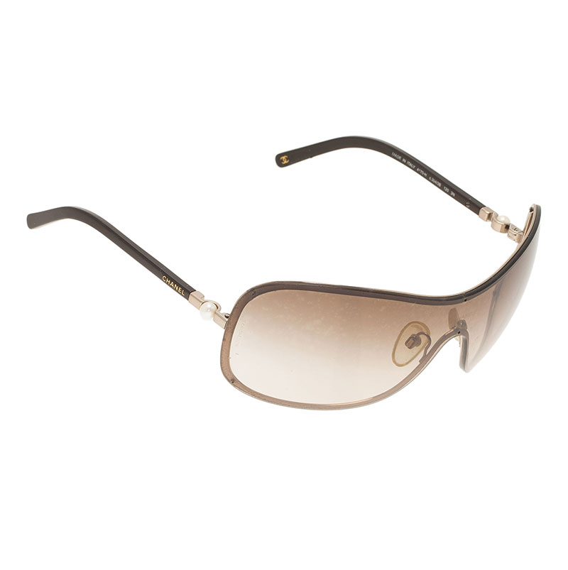 6d1404410c1b9 ... Chanel Brown Shield 4170-H Collection Perle Sunglasses. nextprev.  prevnext