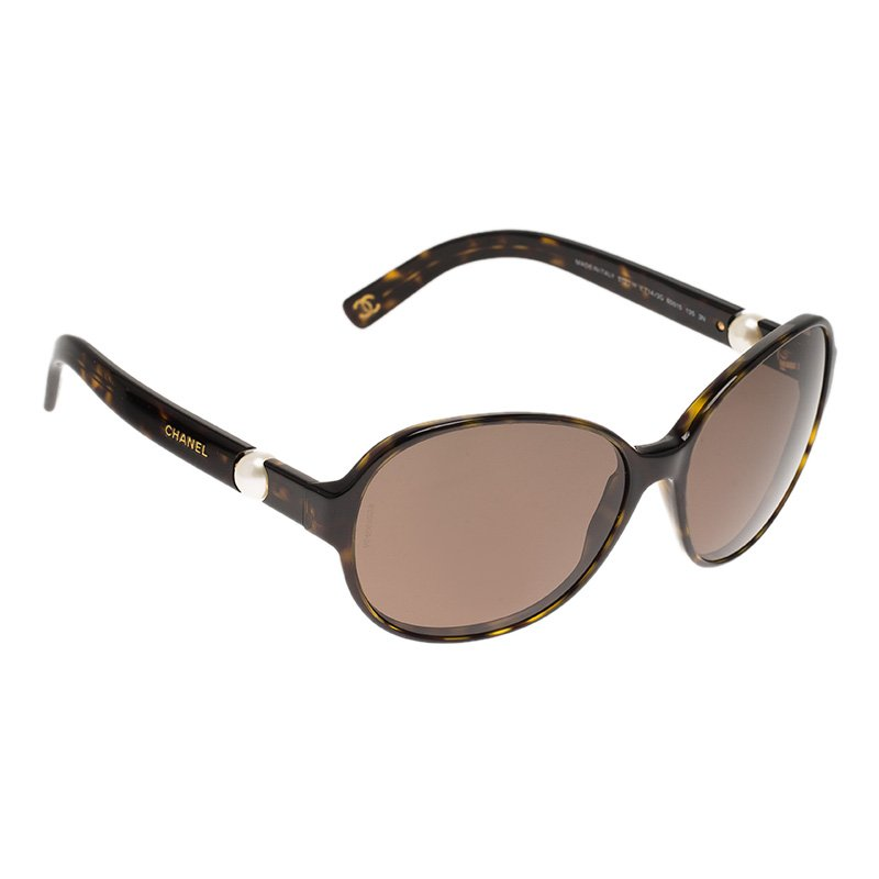 a945d25bf0 ... Chanel Tortoise 5131-H Perle Collection Round Sunglasses. nextprev.  prevnext