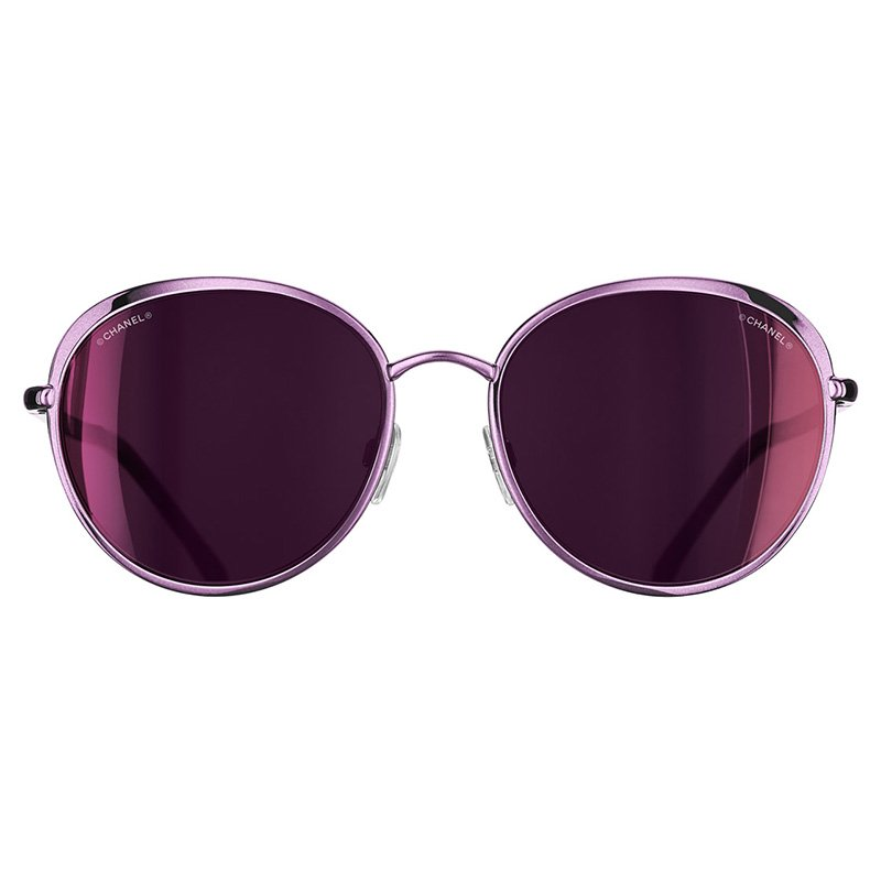 8dd47b98312e1 Buy Chanel Black 4202 Polarized Round Cat Eye Sunglasses 68919 at ...