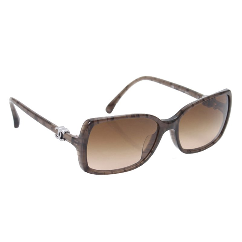 Buy Chanel Dark Brown 5218A Sunglasses 93101 at best price  41c992a46d