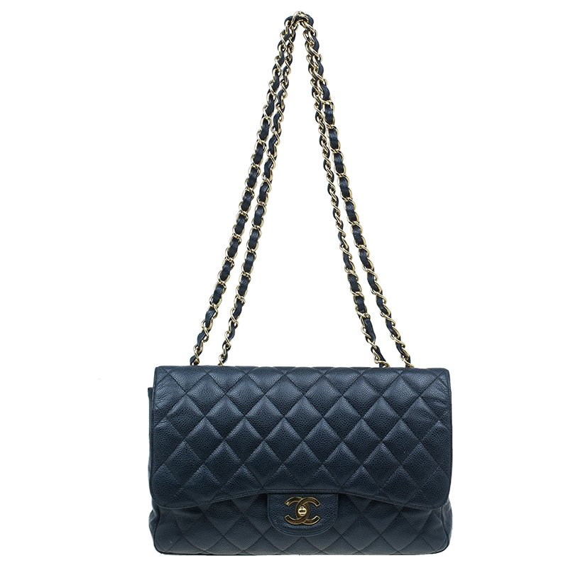 ... Chanel Black Caviar Leather Jumbo Classic Flap Bag. nextprev. prevnext 3b29cb0dac25b