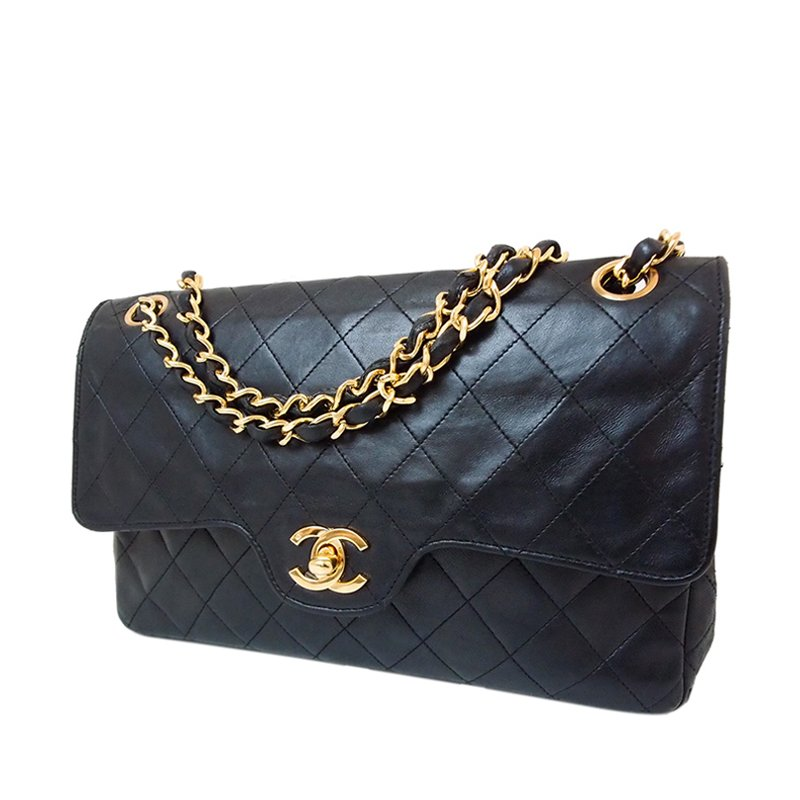 ... Chanel Vintage Black Lambskin W Matelasse 25 Shoulder Bag. nextprev.  prevnext 537c94bb38