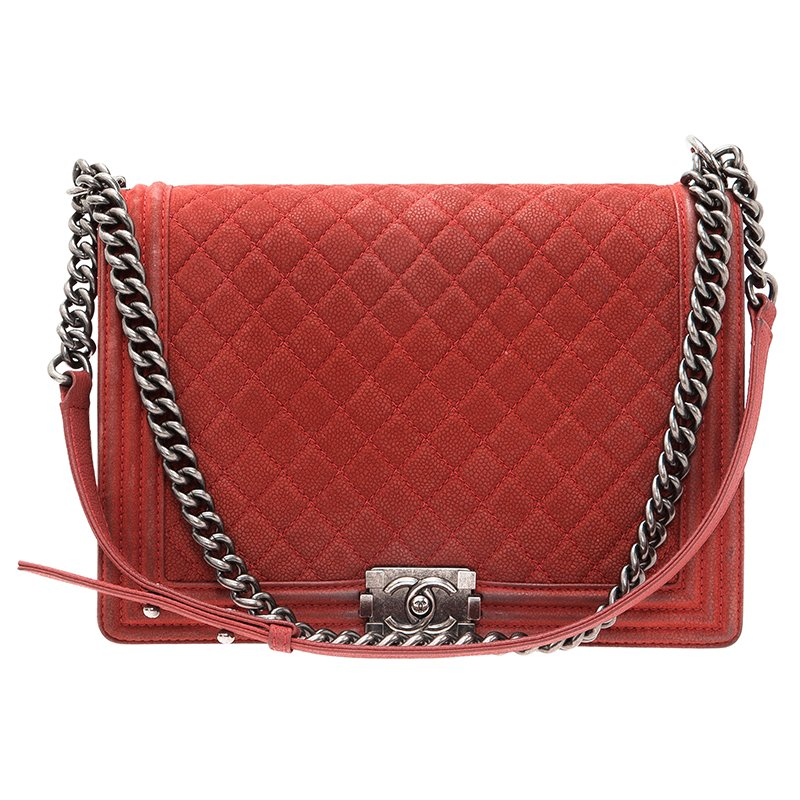 3f7411e0202f ... Chanel Red Matte Caviar Leather Large Boy Flap Bag. nextprev. prevnext