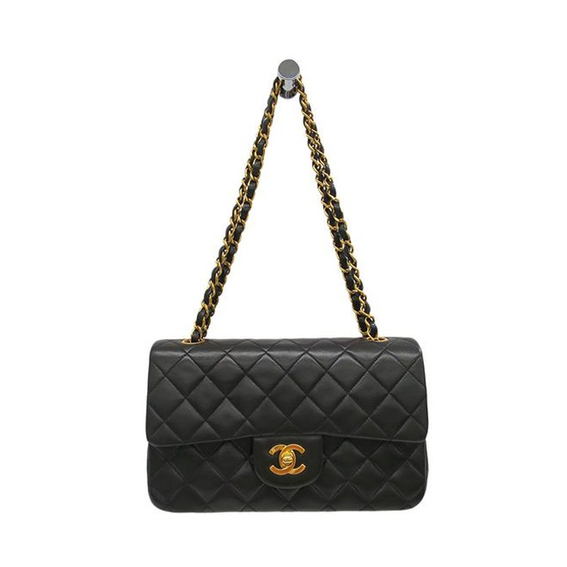 7d7aafa88cbf4e ... Shoulder Bag Nextprev Prevnext. Chanel Black Quilted Lambskin Leather  Medium Clic Single Flap