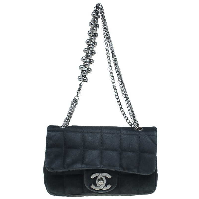 c21a93a09273 ... Chanel Black Square Quilted Satin Mini Flap Evening Bag. nextprev.  prevnext