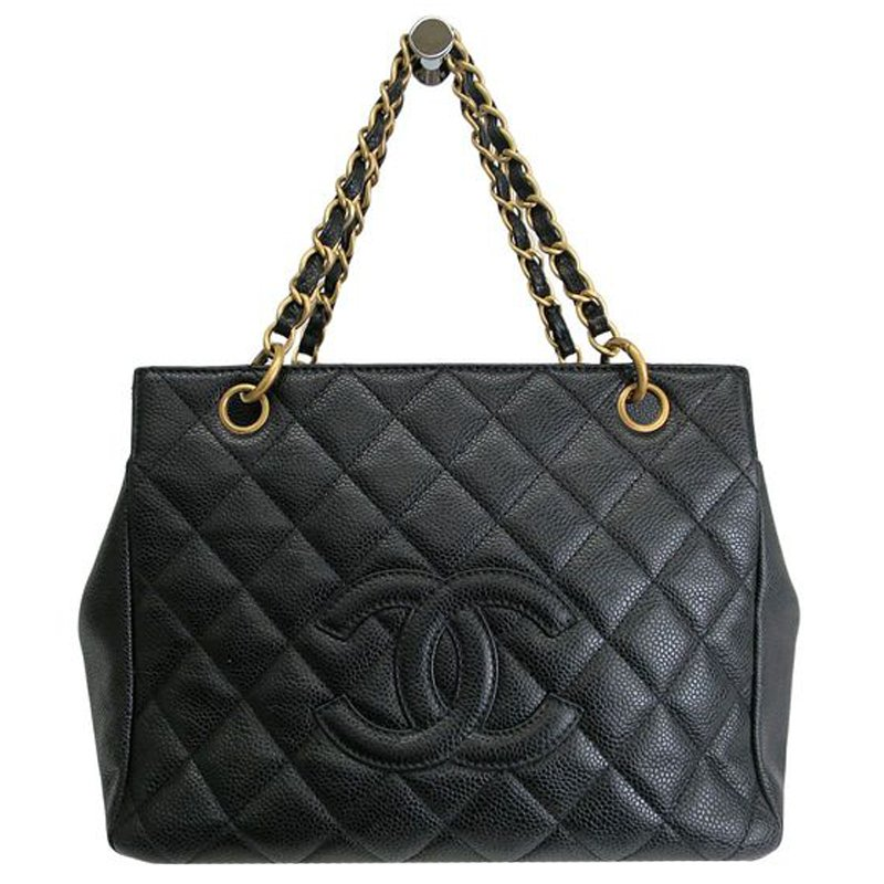2489920a5ac5 ... Chanel Black Quilted Caviar Petite Timeless Tote. nextprev. prevnext