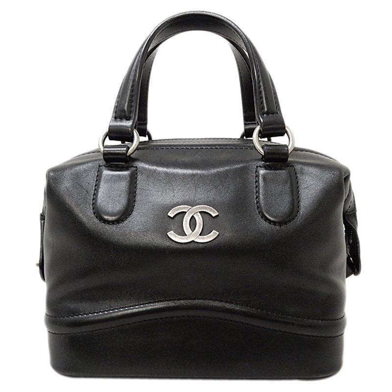 68c192d9bcdf Buy Chanel Black Calfskin CC Doctor Bag 57980 at best price   TLC