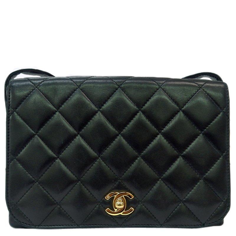 208332024ea5 ... Chanel Black Quilted Lambskin Vintage Flap Bag. nextprev. prevnext