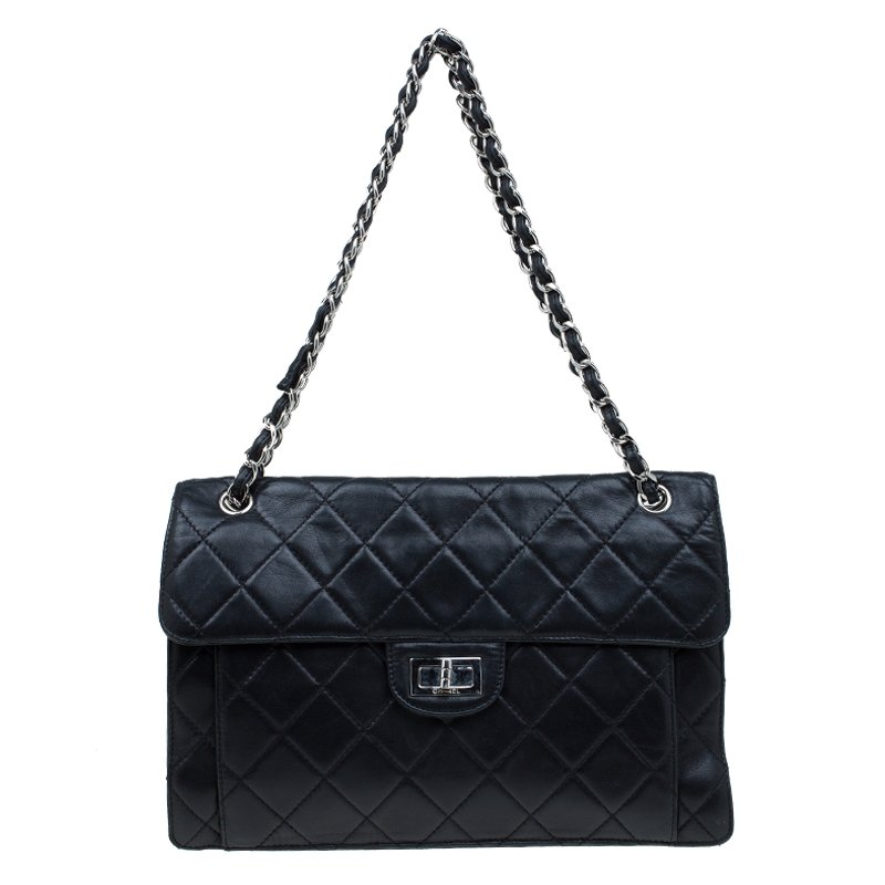 e11464759c89 ... Chanel Black Quilted Leather Mademoiselle 3 Flap Bag. nextprev. prevnext