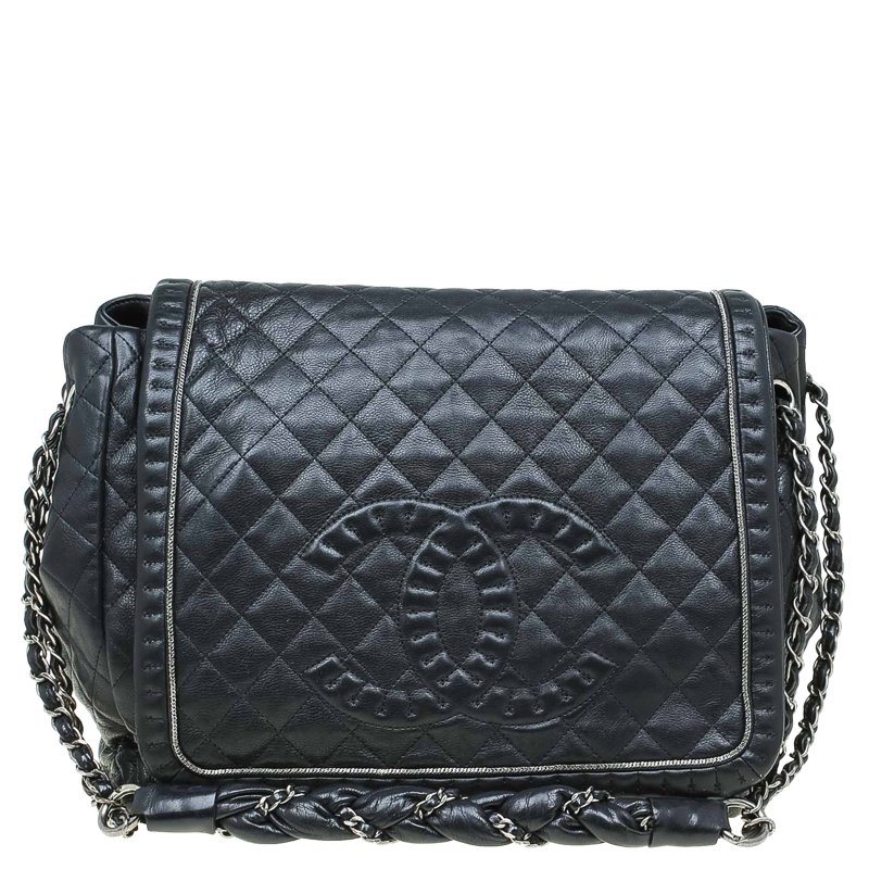 77343159d144 ... Chanel Black Quilted Leather Timeless Accordion Flap Bag. nextprev.  prevnext