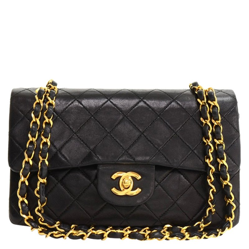 e981f550b4d1fa Chanel Small Quilted Lambskin Flap Bag - Best Quilt Grafimage.co