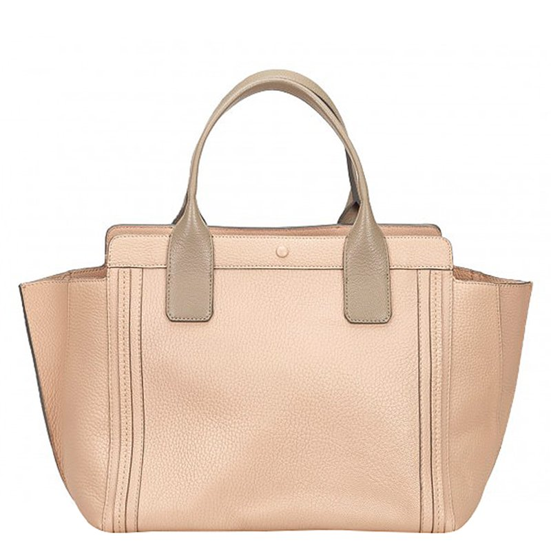 ba40a8742c Chloe Pink Leather Alison Tote Bag