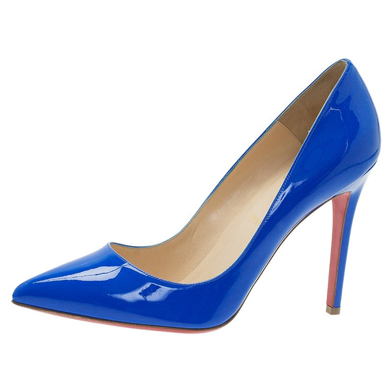833bd2058344 Christian Louboutin Blue Heels - Collections Blue Images