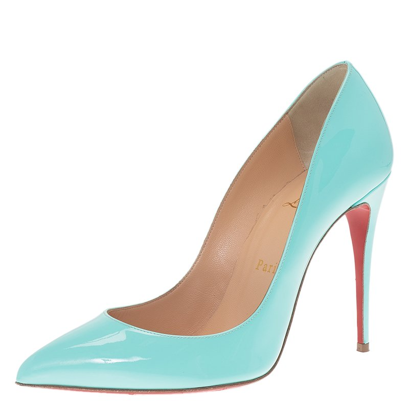 christian louboutin pigalle turquoise