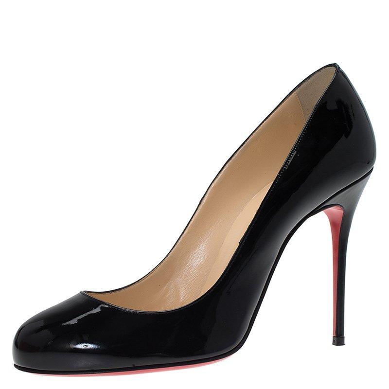 e3a7c93a3298 ... Christian Louboutin Black Patent Fifi Pumps Size 39. nextprev. prevnext