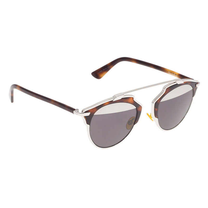 ab6aa6c933 Buy Dior Tortoise Frame So Real Round Sunglasses 40142 at best price ...