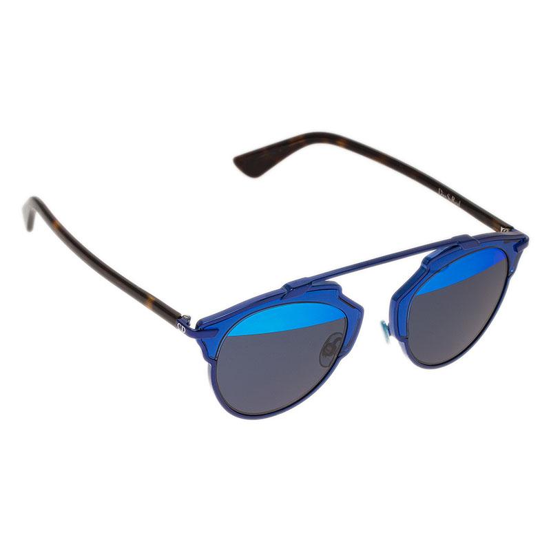 dc2166156 إشتري نظارة شمسية ديور سو ريل زرقاء مستديرة 45474 بأفضل الاسعار | ذا ...