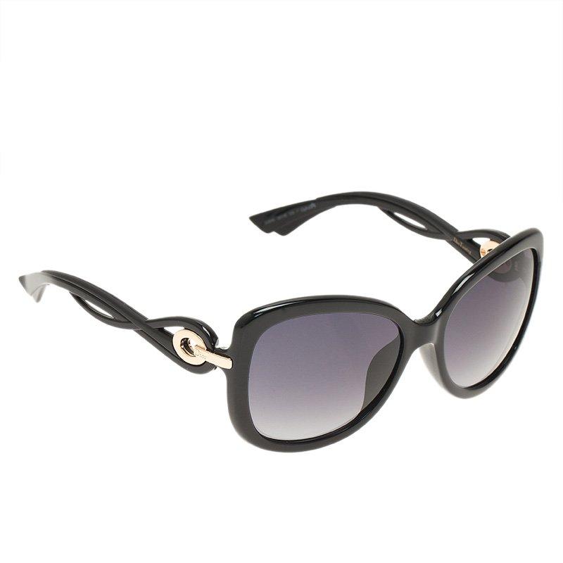 66e483914247 Buy Dior Black Cat Eye D28HD Sunglasses 49828 at best price   TLC