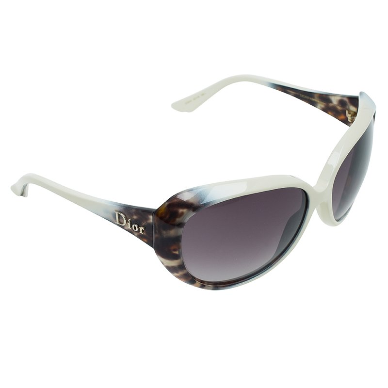 Dior Cream and Leopard Print Panther 1 Sunglasses