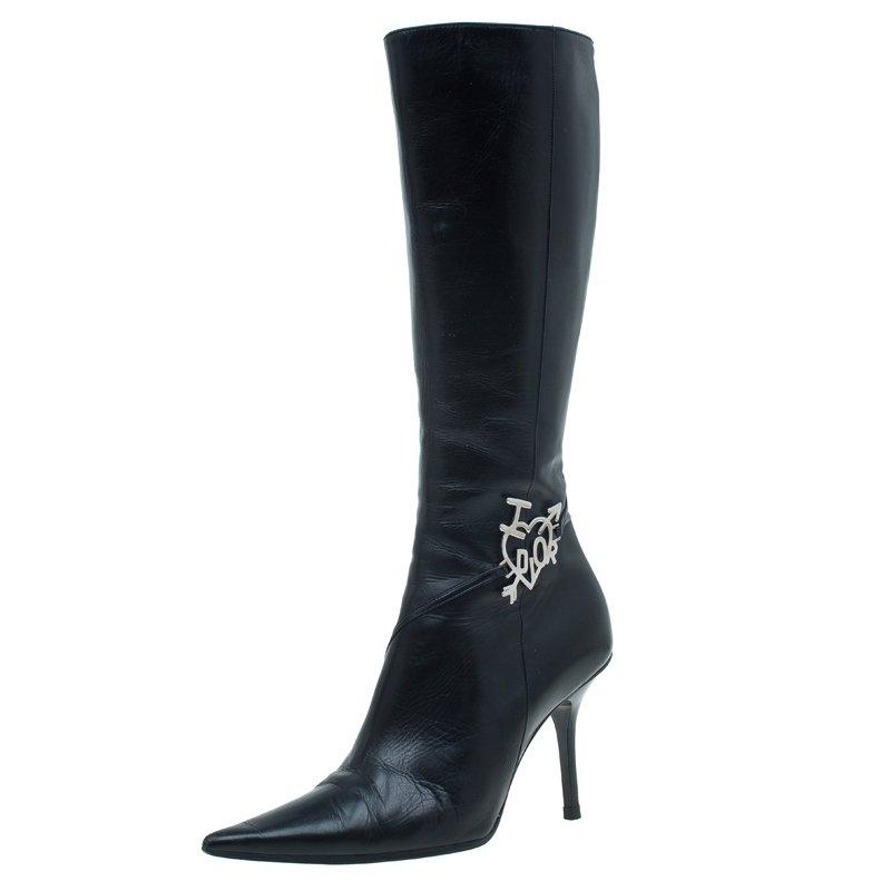 Buy Dior Black Leather