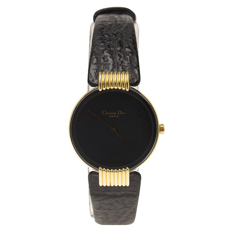 b624c62a9 إشتري ساعة يد نسائية ديورموون دي كريستيان ديور جلد وستانلس ستيل مطلي ...
