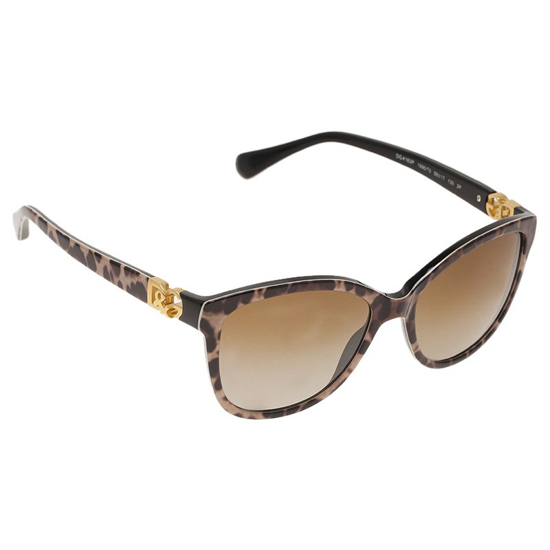 Dolce and Gabbana Brown DG4162 Sunglasses