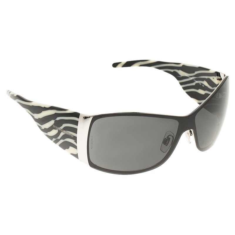 ac33184e7e28 Buy Dolce and Gabbana Zebra Rectangle Sunglasses 50191 at best price ...