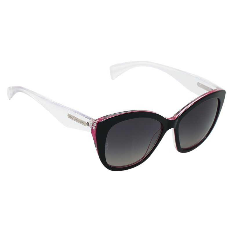 4acfd49d6a7c4 Buy Dolce and Gabbana DG 4220 Pink Cat Eye Sunglasses 50764 at best ...