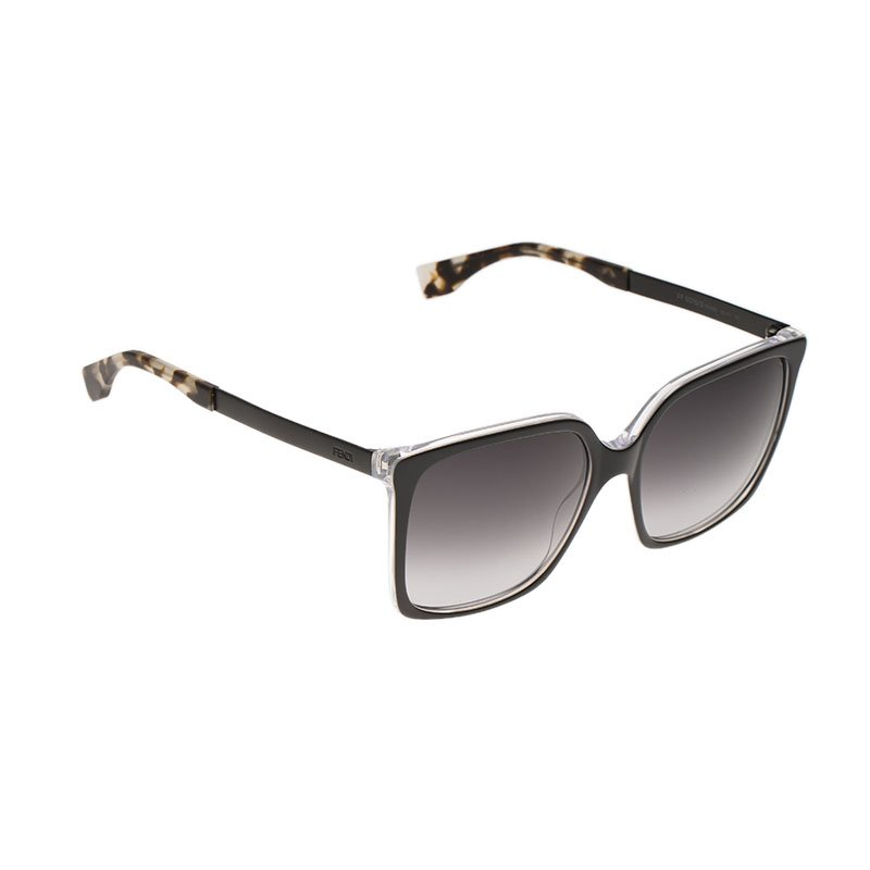 c2dccdbee1 Buy Fendi Black FF0076 S Square Sunglasses 69040 at best price