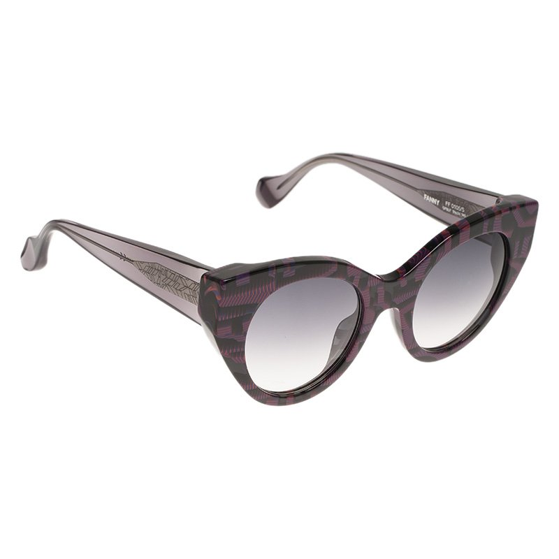 610d5f0626b50 ... Fendi Purple and Grey Fanny FF0105 S Cat Eye Sunglasses. nextprev.  prevnext