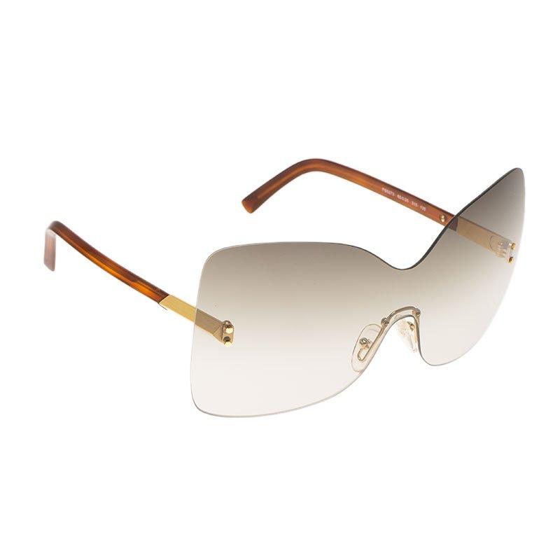 0847f5fcf3651 ... Fendi Brown FS5273 Oversize Square Sunglasses. nextprev. prevnext