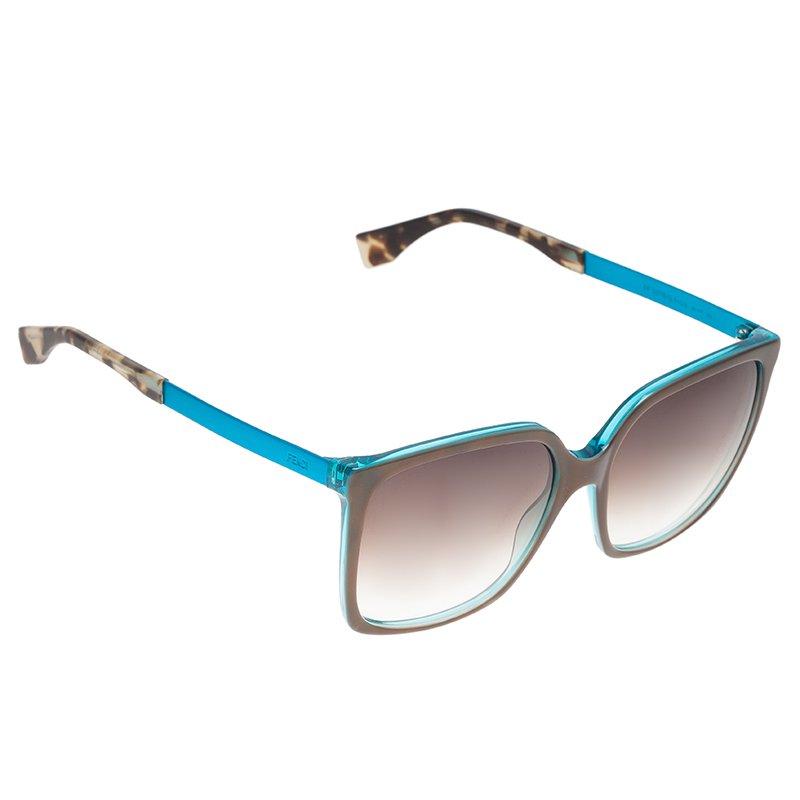 Fendi Two Tone Cat Eye Sunglasses