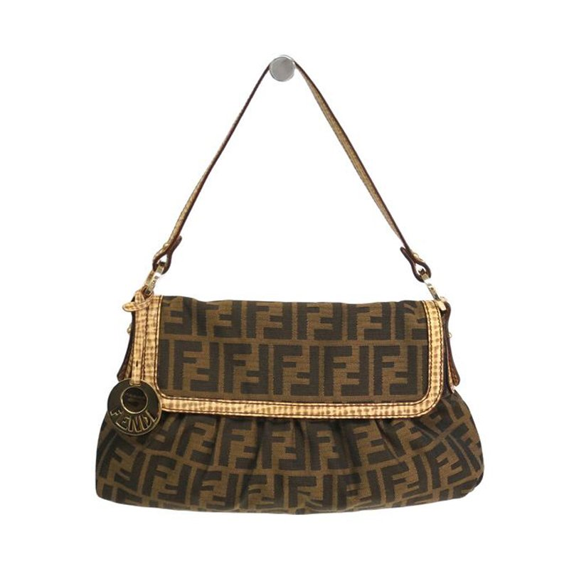 f4347b5103 ... Fendi Tobacco Zucca Canvas Small Chef Shoulder Bag. nextprev. prevnext