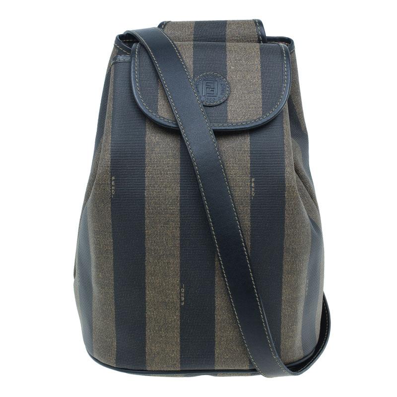 ... Fendi Vintage Coated Canvas Pequin Cross Over Backpack. nextprev.  prevnext b6c71bd2a66e5