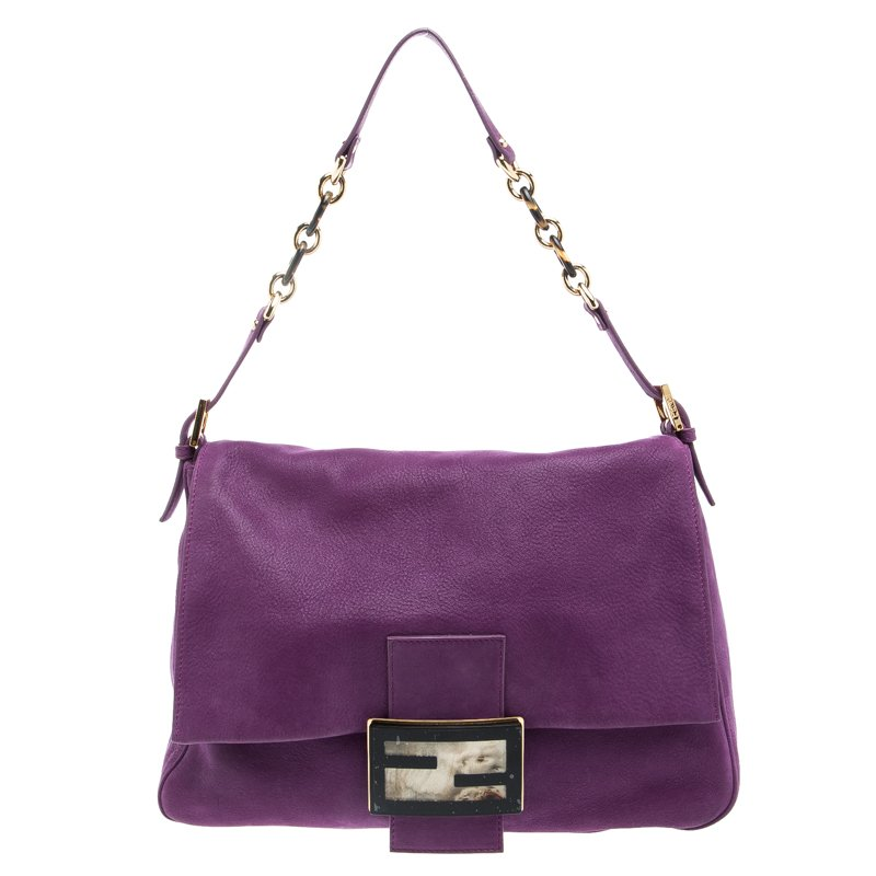 7a0b267598 ... Fendi Purple Iridescent Leather Mama Forever Shoulder Bag. nextprev.  prevnext