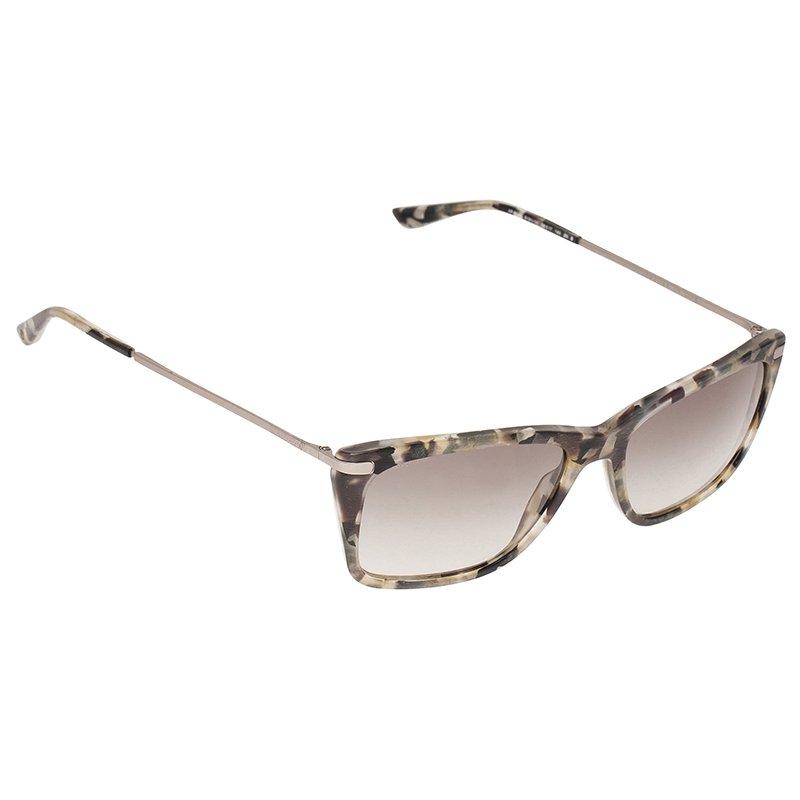 Giorgio Armani Grey Gradient AR8019 Square Sunglasses