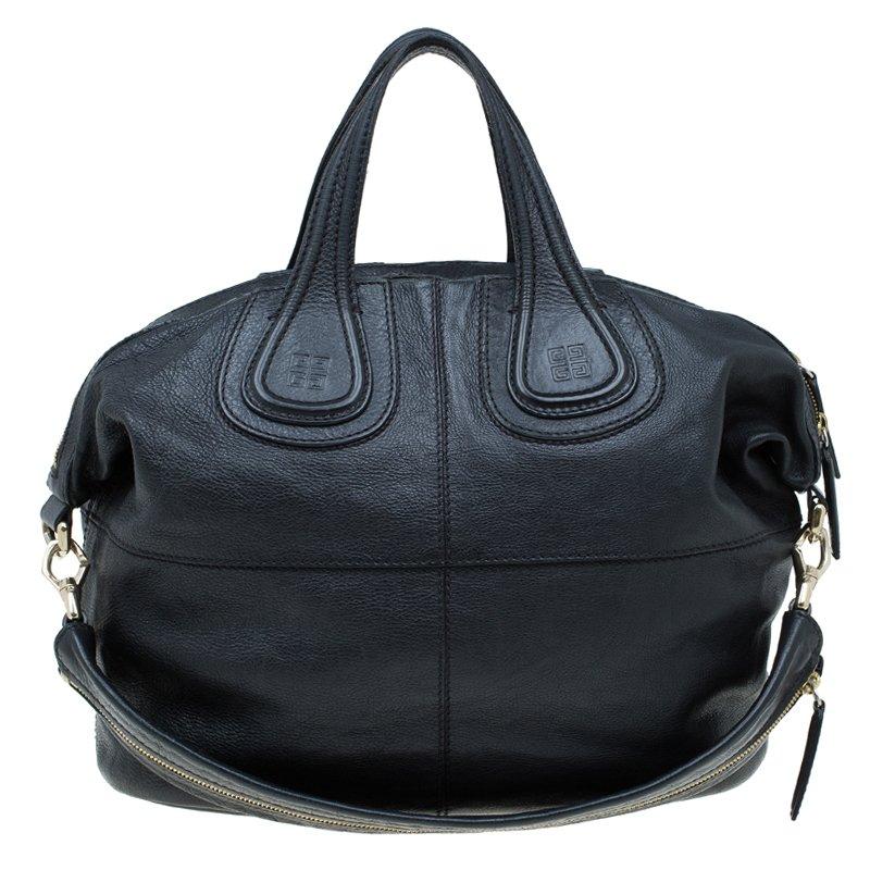 84b057b334 ... Givenchy Black Leather Medium Nightingale Tote. nextprev. prevnext