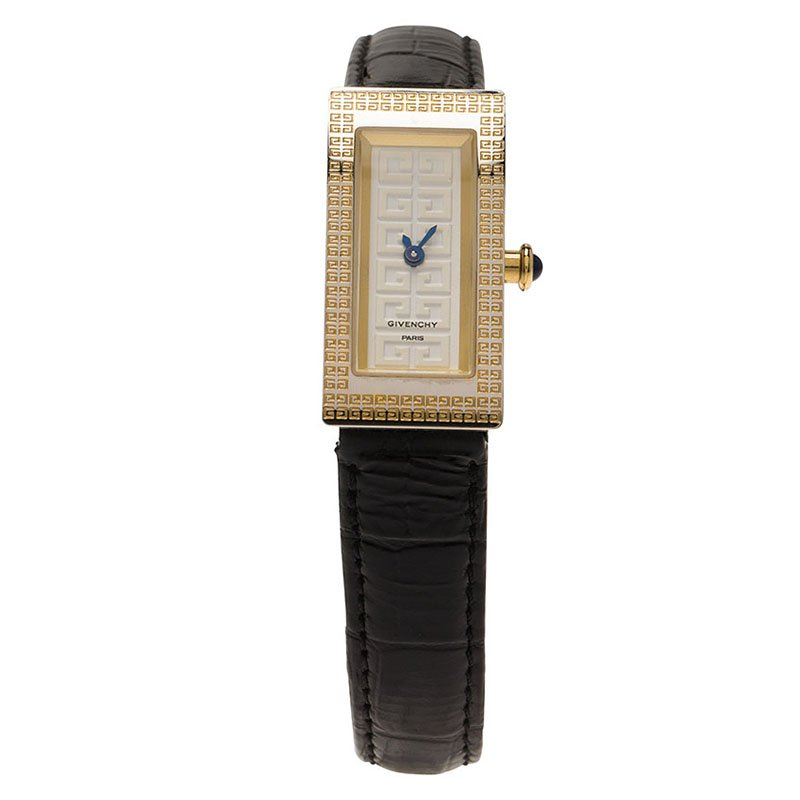 Givenchy White Stainless Steel Apsaras Women's Wristwatch 15MM
