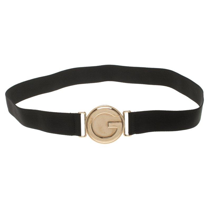 cee845543 ... Gucci Black Elastic Interlocking G Buckle Belt 85 CM. nextprev. prevnext