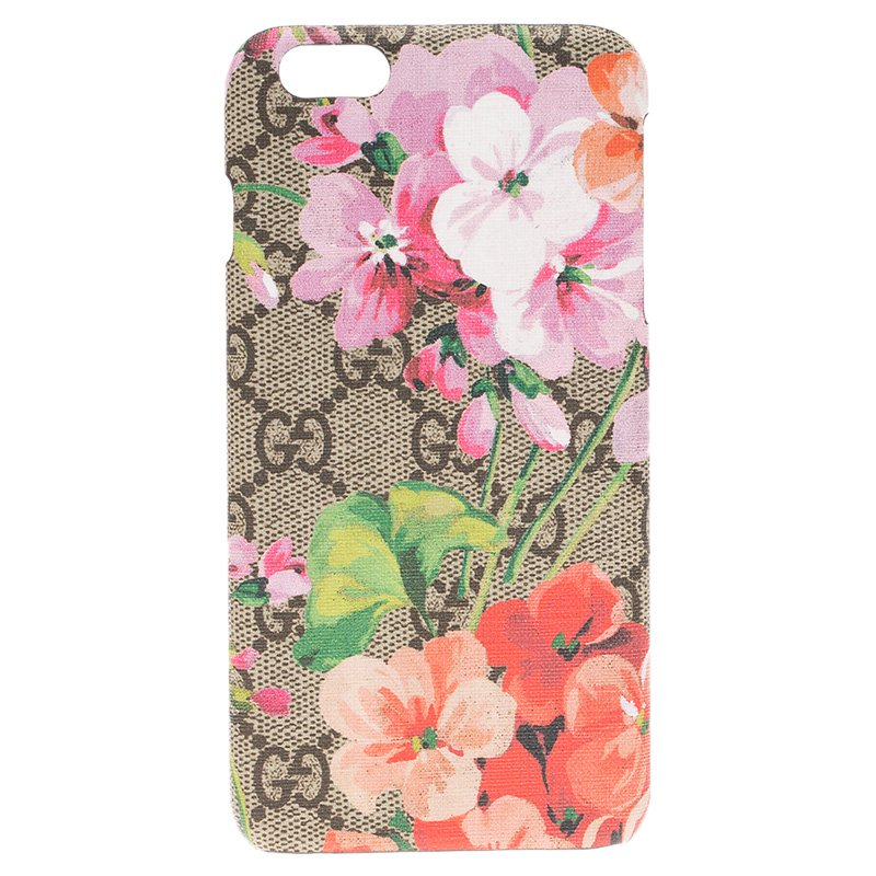 Gucci Beige GG Blooms iPhone 6 Plus Cover