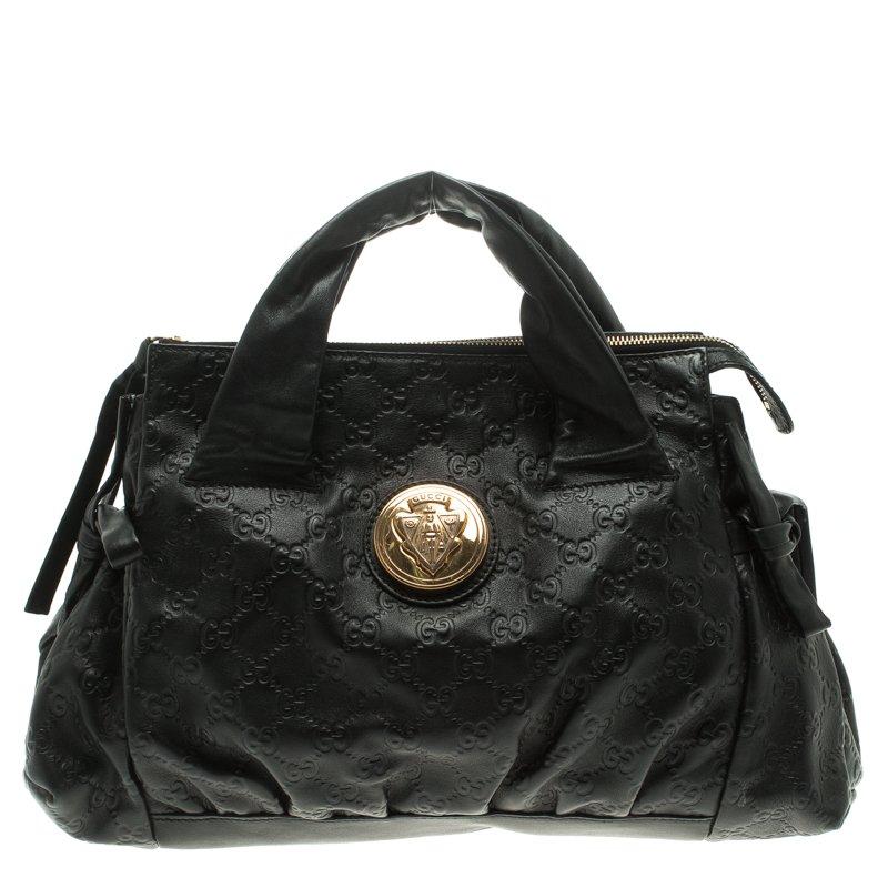 e982a1b2648 ... Gucci Black Guccissima Leather Small Hysteria Satchel. nextprev.  prevnext