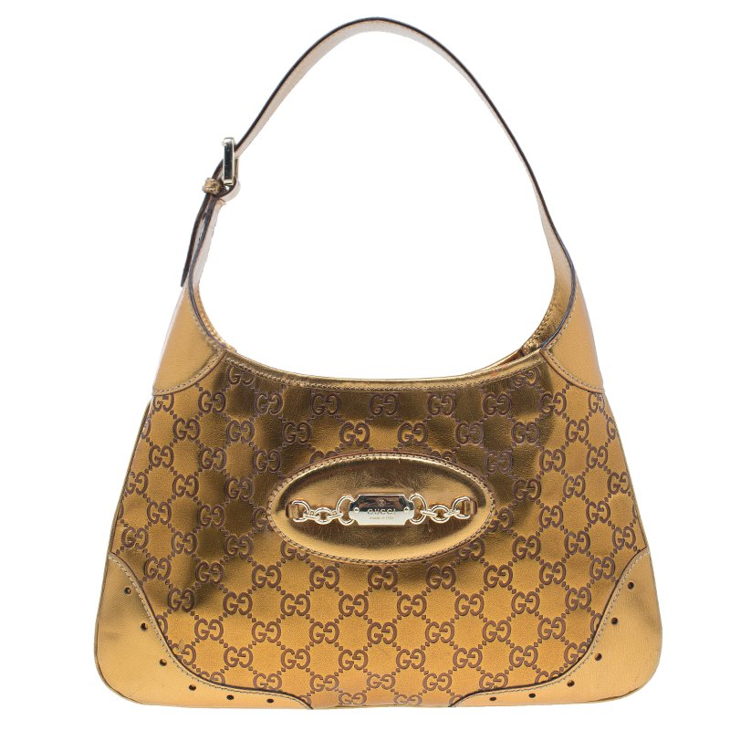 39a3d47fcded ... Gucci Bronze Guccissima Leather Medium Jackie Hobo Bag. nextprev.  prevnext
