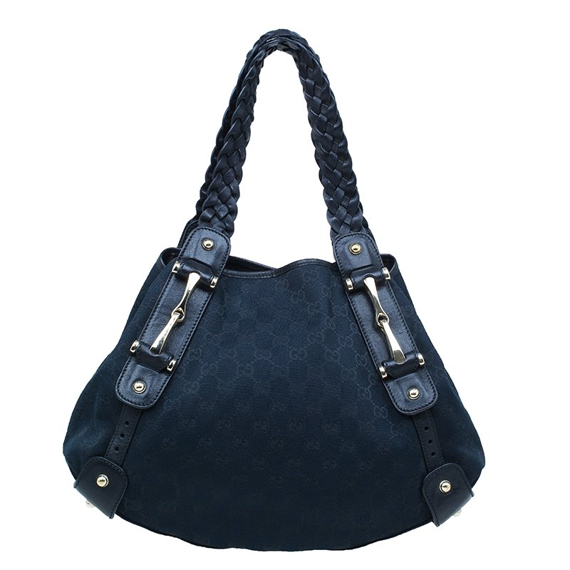 2131d8036 ... Gucci Black GG Canvas Small Pelham Shoulder Bag. nextprev. prevnext