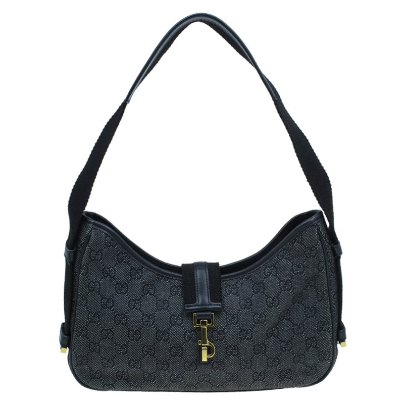 ae43be74c ... Gucci Denim GG Fabric Small Jackie Shoulder Bag. nextprev. prevnext