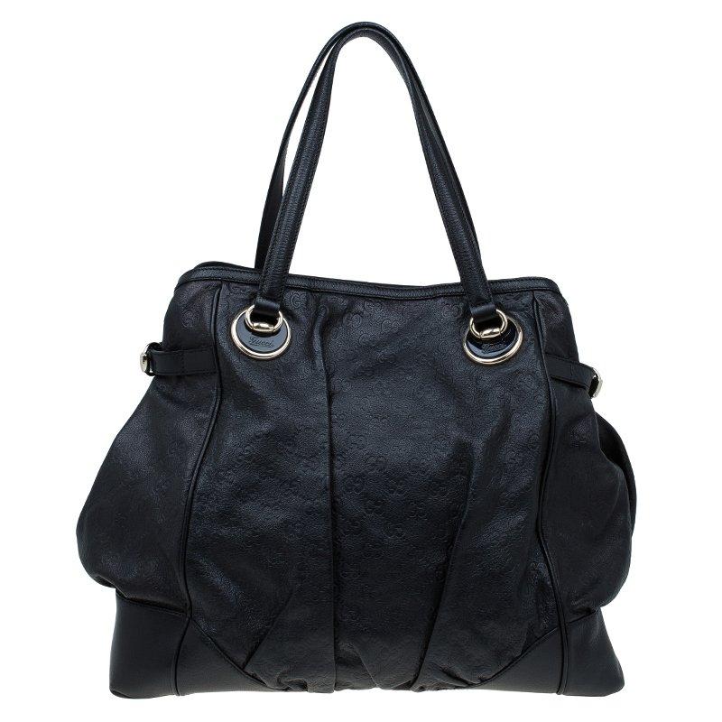 2f2b173a780 ... Gucci Black Guccissima Leather Full Moon Tote. nextprev. prevnext