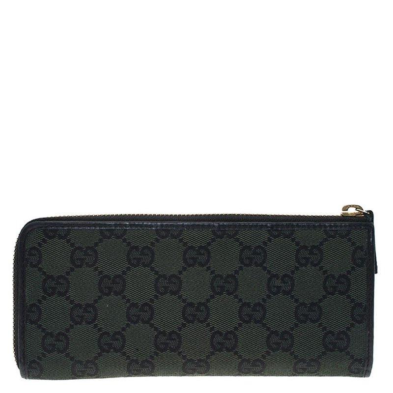 929dcc0faff9 ... Gucci Green Guccissima Canvas Zip Around Wallet. nextprev. prevnext