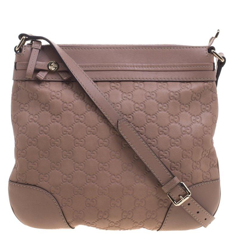 895dda61a5b ... Gucci Beige Guccissima Leather Mayfair Crossbody Bag. nextprev. prevnext
