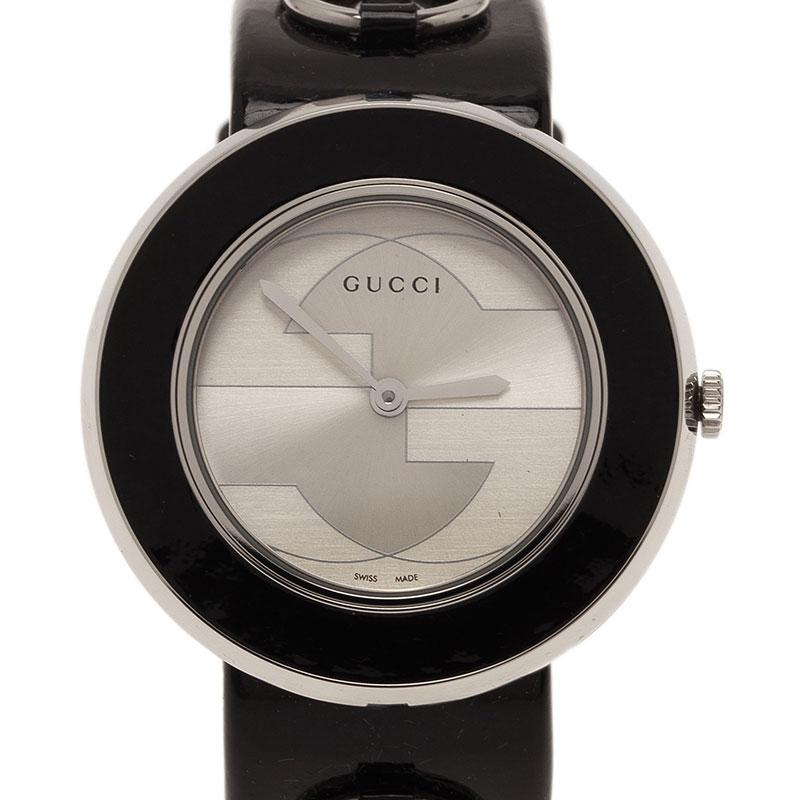 346d2c62d48 ... Gucci Silver Stainless Steel U-Play 129.4 Women s Wristwatch 35MM.  nextprev. prevnext